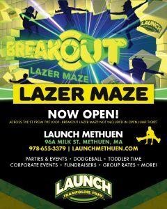 Lazer Maze Now Open!