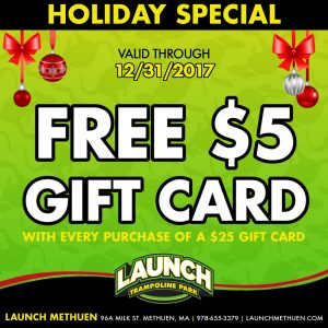 $5 Bonus Gift Card